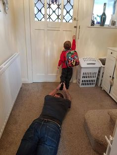 My son's first day at school today. I Handled it really well....