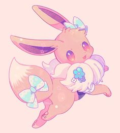 Discovered by Find images and videos about cute, anime and kawaii on We Heart It - the app to get lost in what you love. 150 Pokemon, Pokemon Fusion, Pokemon Memes, Pokemon Fan Art, Cool Pokemon, Cute Animal Drawings Kawaii, Kawaii Drawings, Cute Drawings, Eevee Wallpaper