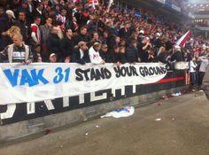PSV supporting Vak 31 (De Graafschap)