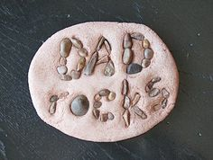 Dad Rocks - a great gift for Christmas, Birthday, Father's Day, Just Because...