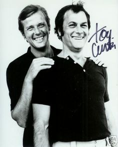 The Persuaders! loved these guys I'm lucy enough to have Tony's Autograph..and Roger was my favorite Bond