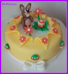 Paas taart / Easter cake https://www.facebook.com/bolicioso