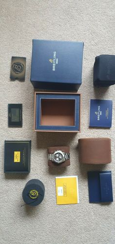 Breitling Colt Chronograph Watch, excellent con - With original box · $910.94 Breitling Colt Chronograph, Card Case, Watch, Box, Etsy, Shopping, Clock, Snare Drum