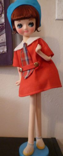 All doll japanese vintage pity, that