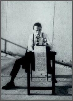 Paul Eluard - poet at work