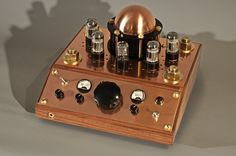 The DeuxPre - Steampunk Inspired Tube Pre-Amp by #CopperSteam