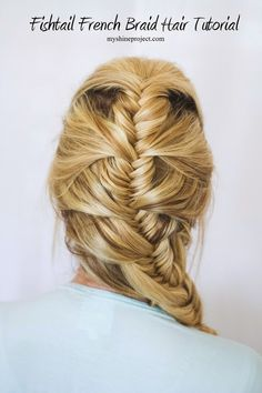 Fishtail French Braid | The Shine Project