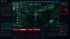 FUI Foxtrot - Drone UI on Behance
