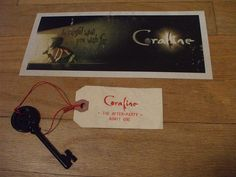 Coraline premiere - the ticket and key to the after-party by susanstars, via Flickr
