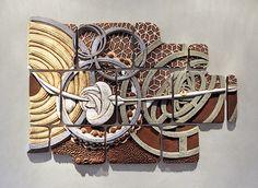 Chris Gryder Ceramic Tiles, Vessels, Sculpture and Art Commissions Tile Murals, Tile Art, Ceramic Wall Art, Ceramic Pottery, Kintsugi, Wall Sculptures, Sculpture Art, Clay Tiles, Ceramic Artists