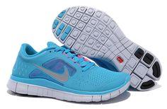 Womens Nike N7 Free Run 3 Dark Turquoise Reflective Silver White Pink Flash Shoes