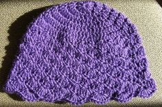 Free Crochet Cancer Hat Patterns | ... the pattern very much. This was my first time using a shell pattern