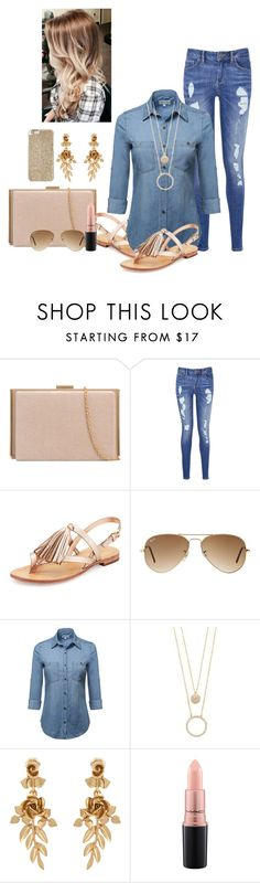 """""""Untitled #133"""" by nk12doglover ❤ liked on Polyvore featuring Tommy Hilfiger, Kate Spade, Ray-Ban, Oscar de la Renta, MAC Cosmetics and Michael Kors"""