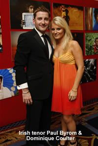 Paul Byrom and Dominique Coulter are getting married next month (Aug 2013)! CONGRATS to a very lovely couple!!