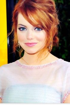 softer make-up really compliments the fiery red heads and copper tones.