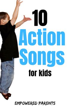 Teach your preschoolers these fun action rhymes. They are easy to learn and will build your child's gross motor skills. Preschool Action Songs, Preschool Music Activities, Educational Activities For Preschoolers, Kindergarten Songs, Preschool Learning, Action Songs For Children, Kindergarten Readiness, Listening Activities, Movement Activities