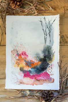 S warmth laura horn art painting/sketching/drawing в Abstract Watercolor, Watercolor Paintings, Watercolor Artists, Abstract Oil, Abstract Paintings, Oil Paintings, Watercolors, Landscape Paintings, Art Journal Inspiration
