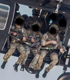 Delta Force operators spotted on a helicopter 2014-2015. [600 x 691]
