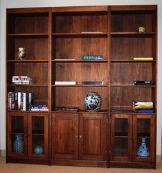 floor to ceiling bookcase plans - Google Search