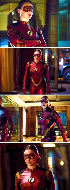 """Jesse Quick in """"The New Rogues"""" #TheFlash #Season3 #3x04"""