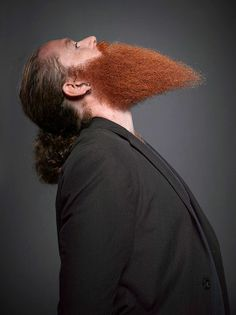 pointy red beard