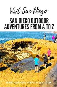 San Diego Vacation, San Diego Travel, La Jolla San Diego, San Diego Attractions, Visit San Diego, Adventure Activities, Fun Activities, San Diego Area, California Travel