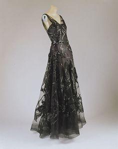 Evening dress, Vionnet, 1938-39