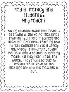 First Grade Wow: Telling Time, Writing Letters, and Coming Up? Media Literacy - First Grade Wow: Telling Time, Writing Letters, and Coming Up? Media Literacy, Literacy Activities, Ontario Curriculum, Art Curriculum, Information Literacy, 21st Century Learning, Media Studies, Digital Literacy, Persuasive Writing