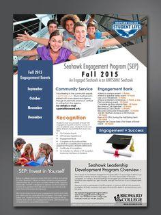 Brochure to Poster - Broward College - Florida by adibpost_iklan