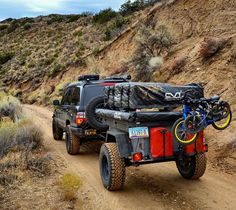 Palmofthewild(from IG) Tventuring deep into the backcountry with his nice M416 trailer setup.