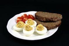gefüllte Eier mit SardellenRezept