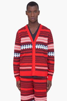 3.1 PHILLIP LIM Red 2.1 Vest & Cardigan ($720)...... REALLY !!!!!