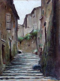 Rutilio Muti - La Rupe di Orvieto