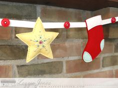 Beaded Star and Stocking | Elizabeth Jones | Flickr
