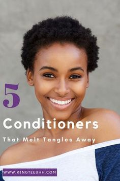 Do you struggle with tangled hair? Are you searching for the perfect products to help with tangles? Here are 5 conditioners that MELT tangles away!
