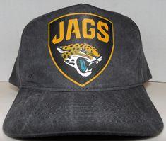 Jacksonville Jaguars NFL Football Custom Vintage Style New Logo Snapback Hat Cap #KCCaps #JacksonvilleJaguars