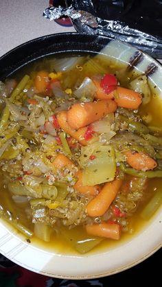 Quinoa and veggie soup!