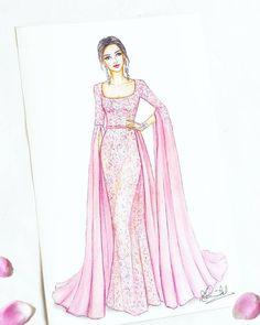 Dress Design Drawing, Dress Design Sketches, Fashion Design Sketchbook, Dress Drawing, Fashion Design Drawings, Fashion Sketches, Dress Illustration, Fashion Illustration Dresses, Fashion Illustrations
