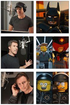 The Lego Movie.  Starring Will Arnett, Will Ferrell, and Qui-Gon Jinn.