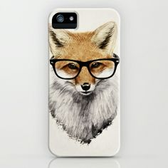 Mr. Fox iPhone & iPod Case by Isaiah K. Stephens - $35.00