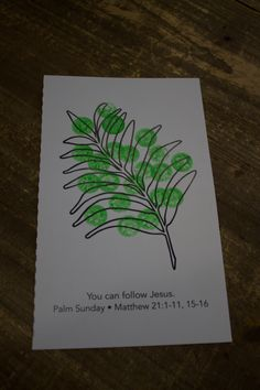 """Craft sample for Extended Toddlers, Week """"Palm Branch"""" Toddler Sunday School, Sunday School Crafts For Kids, Sunday School Activities, Sunday School Lessons, Easter Activities, Toddler Bible Crafts, Easter Crafts For Toddlers, Bible Story Crafts, Preschool Crafts"""