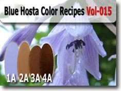 Blue Hosta Kato Polyclay Color Recipes