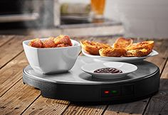 Lazy Susan Cordless Warming Tray, 2016 Amazon Hot New Releases Warming Drawers  #Kitchen