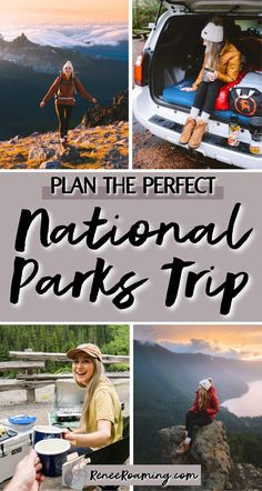 In 2017 I visited every US national park, so you could say I know a thing or two about planning a national parks trip 😉 In this blog post I am sharing everything you need to know to plan the perfect national parks trip. Keep reading to find out how to choose a national park, drafting your itinerary, where to stay, how to plan hikes, what to pack, and so much more! #nationalparks | how to plan a national parks trip | planning a national parks trip | visiting national parks  via @reneeroaming