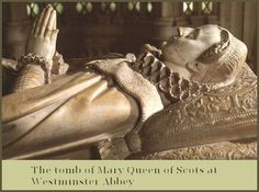 Mary Stuart, the last Queen of an independent Scotland. Her tomb, created by her son James I and VI of England and Scotland. Today, February is the anniversary of her execution by Elizabeth Tudor Isabel Tudor, Isabel I, Mary Queen Of Scots, Queen Mary, Tudor History, British History, Reign, Peterborough Cathedral, House Of Stuart