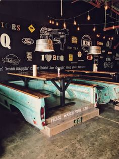 Truck bed booths!