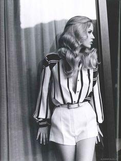 Georgia May Jagger by Alasdair McLellan. Vogue UK, January 2011