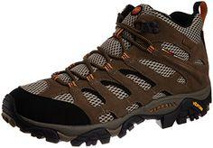 Merrell MOAB MID GTX J86901 - Zapatillas de senderismo de cuero para hombre