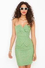 Patti Peplum dress by Nastygal