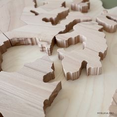 My World Map Map Puzzle, Plywood Boxes, Industrial Design, Home, Instructional Design